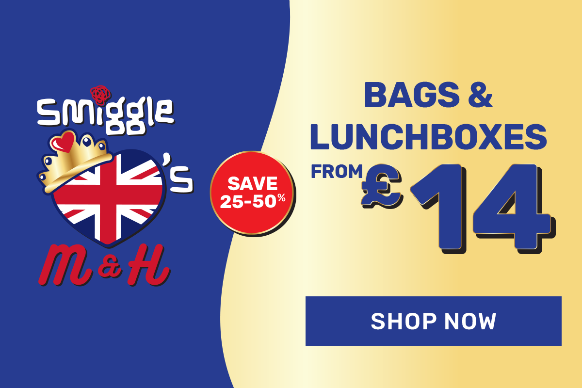 bags and lunchboxes from £14