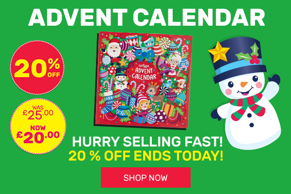 20% OFF Advent Calendar