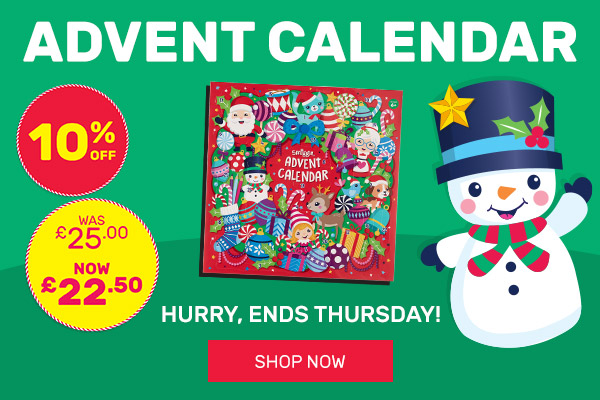 10% OFF Advent Calendar