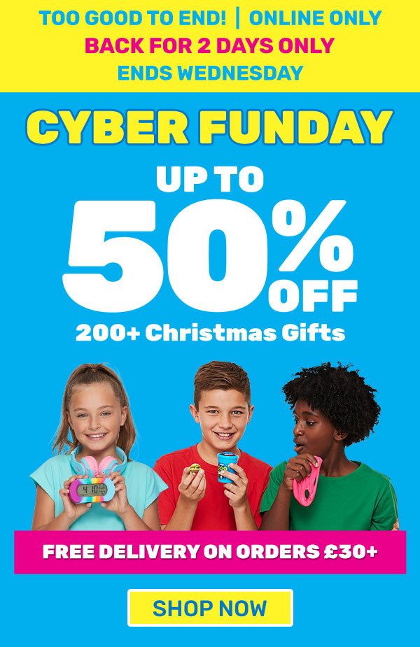 Cyber Funday - Up to 50% OFF Christmas Gifts